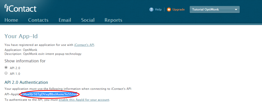 Icontact api integration using php | walkswithme.